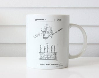 Dental Tools Patent Mug, Dentist Office, Dentist Gift, Dental Hygienist, PP0779
