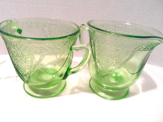 Vintage Glas Lovebirds t