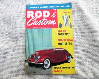 June 1954 Rod & Custom Little Pages Magazine