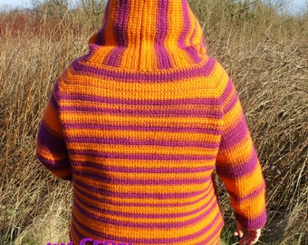 Donna Hoodie Crochet Patern