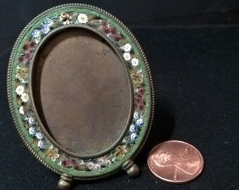 Minature Mosaic Picture Frame