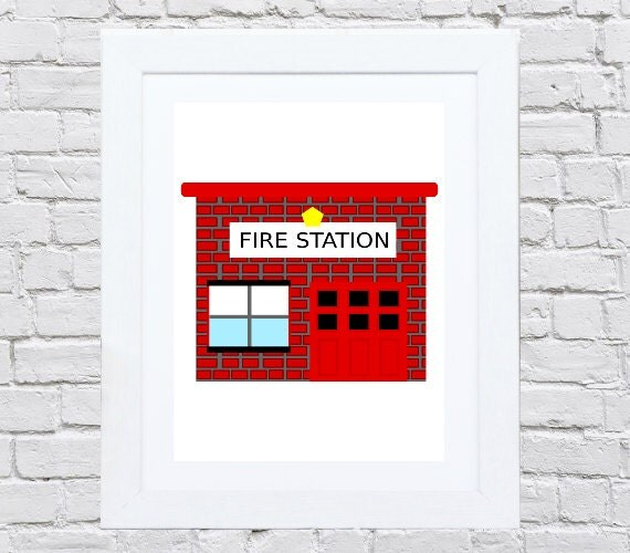 Firefighter Baby Firefighter Nursery Firefighter By SoLuDesigns