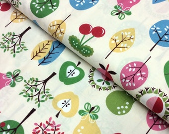 Patchwork Quilting Fabric In the Beginning Home to Roost Orchard 1HD-2