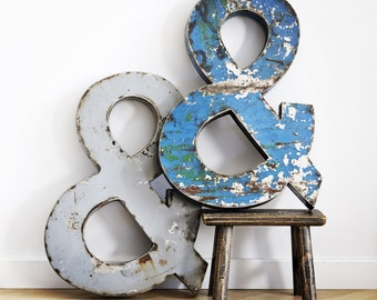 Large Metal Ampersand 'and' Sign