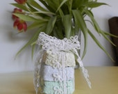 50 Seed Bombs. Square shaped  Handmade Paper Wedding favor, baby shower,house warming gift.