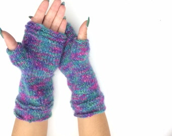 sale off 20% Arm Warmers Fingerless Gloves wristwarmer gloves winter accessory fingerless mitt, autumn gloves, winter gloves, hand crochet