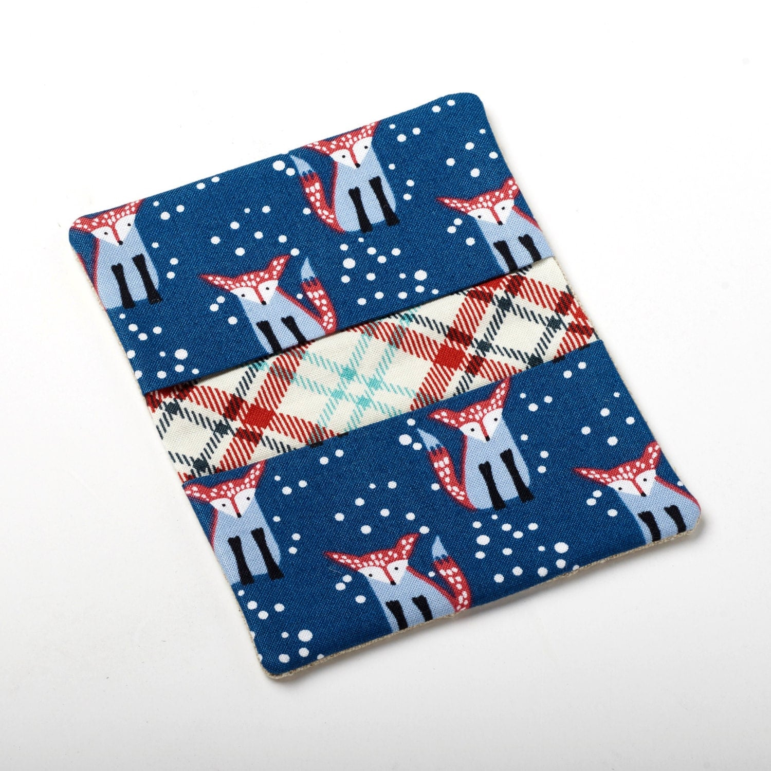 Fox Wallet, Business Card Holder, Small Purse Accessories - Navy ...