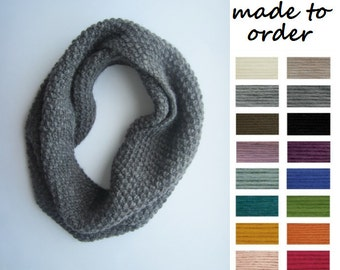 Chunky Knit Cowl, Wool Neck Warmer, Neckscarf, Knit Neckwarmer, Knitted Snood, Cowl Scarf, Knitted Neck Warmer, Snoods for Women, Woolen