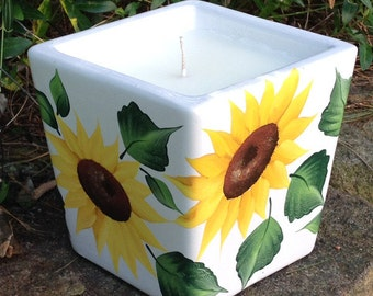 Customizable Ceramic Citronella Candles