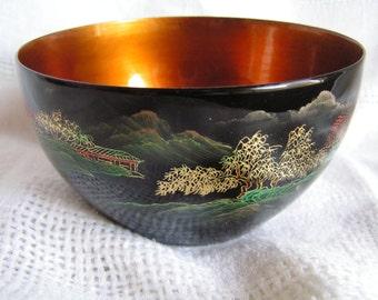 Koi fish bowl etsy for Koi fish bowl