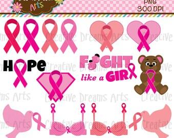 40% Off! Breast Cancer Awareness Digital Art Instant Download