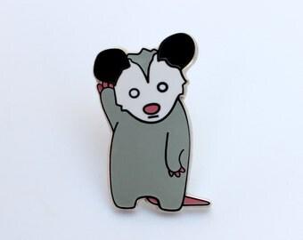 Say What Possum Pin