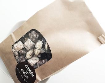 Puppy Chow - Cookies N' Cream Muddy Buddies - Muddy Buddies - Cookies N' Cream - Oreo - By the Pound
