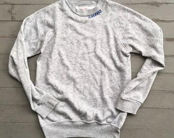 Hand Embroidered Vintage Crew Sweatshirt
