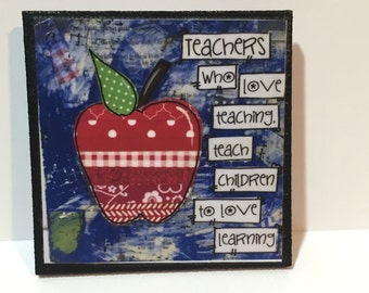 Teacher Magnet, Teachers who love teaching