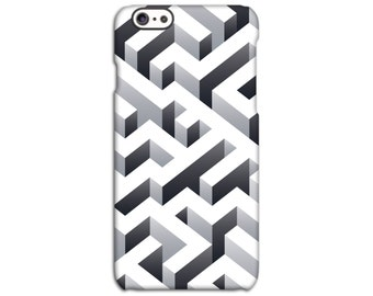 Geometric Maze Case for iPhone 4/4S 5/5S 5C 6/6S 6/6S Plus SE