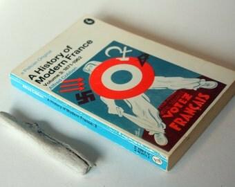 A History Of Modern France  Alfred Cobban 1871-1962 Vintage Book Paperback vintage Paperback