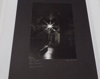 Vintage 1991 Signed 16x20 Photograph by Christopher J. Plantadit