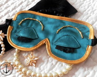 "Mask sleeping ""Breakfast at Tiffany 's"""