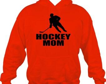 Hockey Mom Sweatshirt/ Hockey Mom Hoodie/ Hockey Sweatshirt / Hockey Gift/ Many Colors