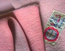 Dutch vintage wool blanket Van Wijk 225-260 cm