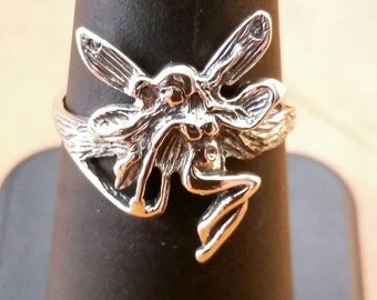 Sterling Silver Fairy Ring