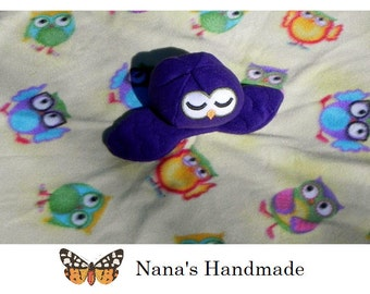 Owl Lullaby Blanket
