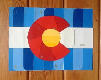 Paint Chip Flag