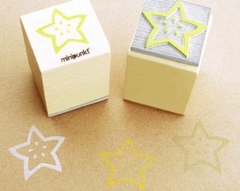 Stamp with star fruit