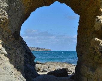 Ocean Photography - Pacific Ocean, Treasure Island, Sea, Waves, Blue, Turquoise, Coastal, Nautical, Wall Art, Home Decor, Print