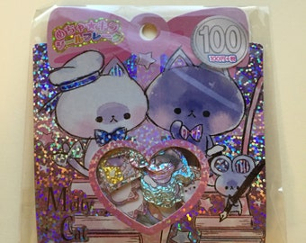 Kamio Japan *Melty Cat* Sticker Sack