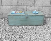 Workmans Tool Box Crate - Storage Box Coffee Table