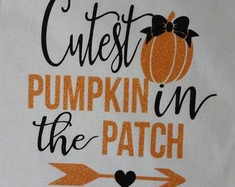 cutest pumpkin fall shirt