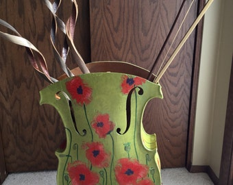 Cello urn/umbrella stand