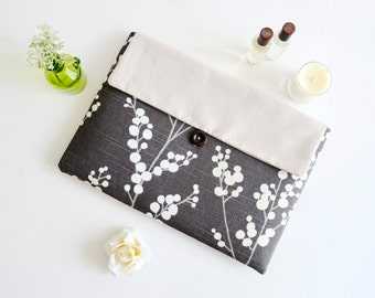 MacBook Case, MacBook Bag, Laptop Case, Laptop Bag, Computer Bag, Computer Case - Blooming