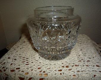 Tudor Crystal Vanity Jar