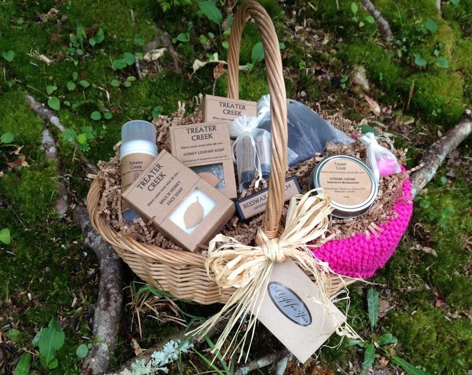Chemo Survival Basket in Pink for Cancer Patients