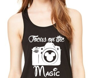 Focus On The Magic - Photography - Disney - 15 Different Shirt Styles To Choose From