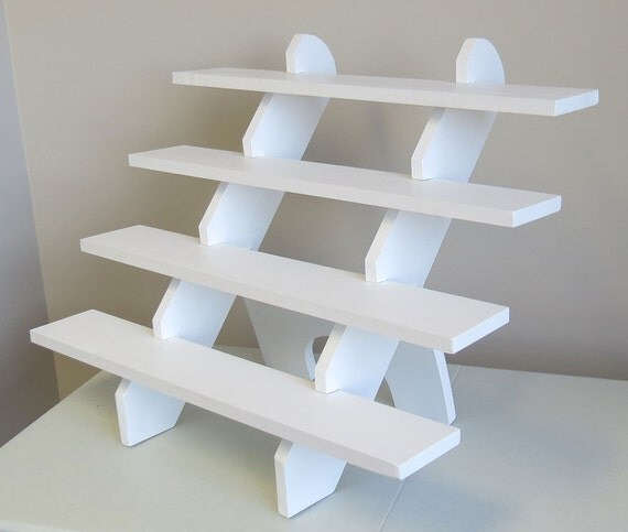 Portable Exhibition Shelves : Collapsible riser portable display stand store by