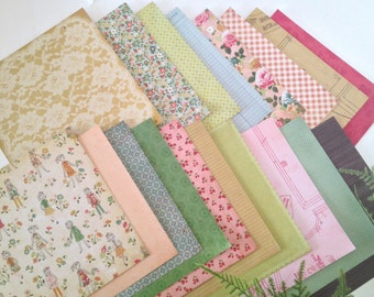 Crate Paper Pretty Party 6x6 Card Stock