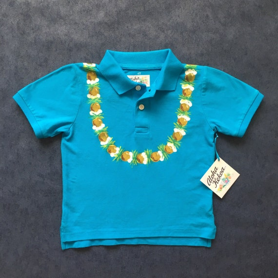 Toddler Boys Hawaiian Shirt Kids Luau Outfit Beach Wedding
