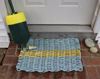 Recycled Lobster Float Rope Rug