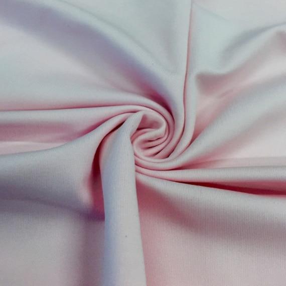 Light Pink Stretch Fabric Sale 4 Way Lycra Knit Jersey