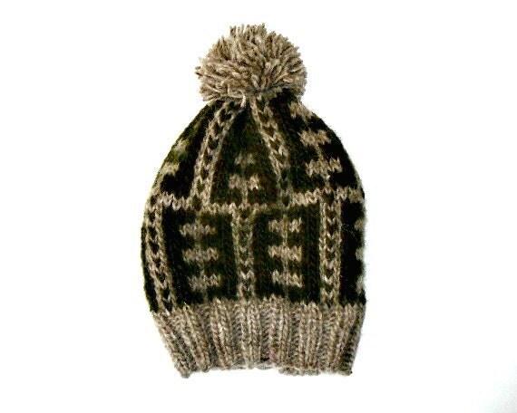 PDF Knitting Pattern Nordic Estonian Icelandic Wool Hat