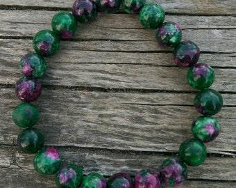 Ruby Fuchsite Bracelet