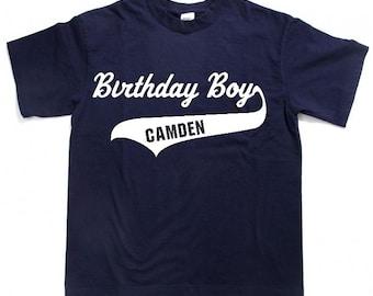 Birthday Boy with Name, Birthday girl with Name, personalized birthday boy shirts, personalized birthday girl shirts,