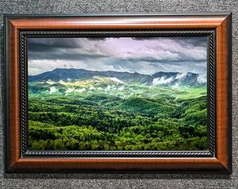 Foothills in the Mist - Smoky Mountains Fine Art Photo from William Britten