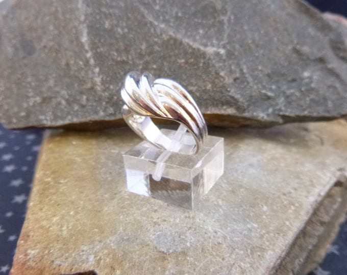 Silver necklace designs - Artisan Crafted 925 Silver Mid-Finger Ring from Thailand