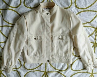 Escada pure fine spun wool jacket from the early 1980s - size 10