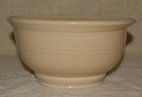 Elegant Serving Bowl, Salad Bowl, Fruit Bowl, Soup Bowl, Off White, Wedding, Stoneware, Ceramic Bowl, Kitchen,
